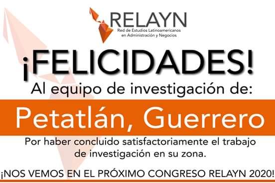 La RELAYN felicita al cuerpo académico de Administración y Contabilidad
