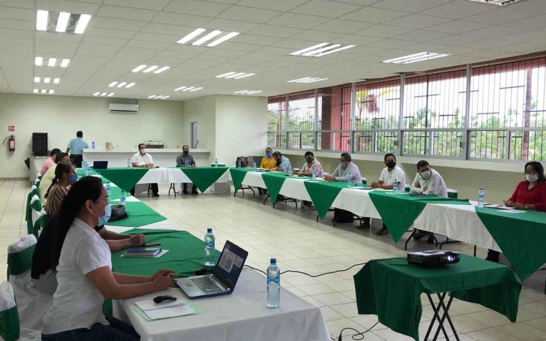 Reunión de seguimiento con personal directivo