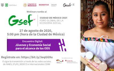 Encuentro Digital Jóvenes y Economía Social para el Alcance de los ODS