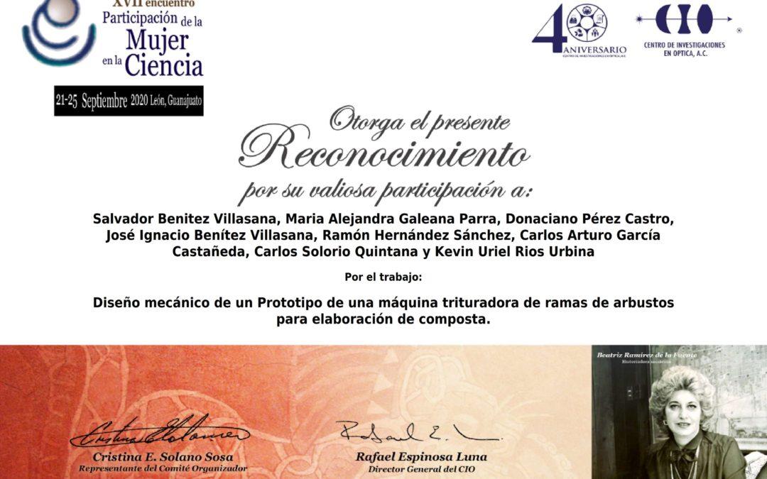 XVII Encuentro de Participación de la Mujer en la Ciencia