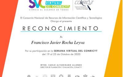 """Semana Virtual del CONRICyT """"Ciencia al alcance de todos"""""""