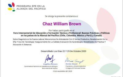Foro Intersectorial de Educación y Formación Técnica y Professional