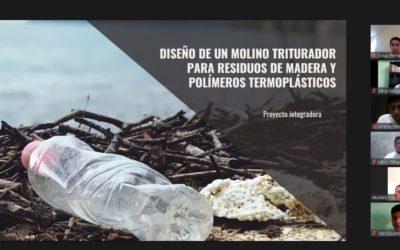 """Proyecto """"Molino triturador de madera y polímeros"""""""