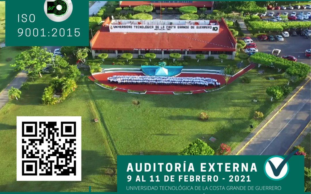 Auditoria externa – ISO 9001:2015