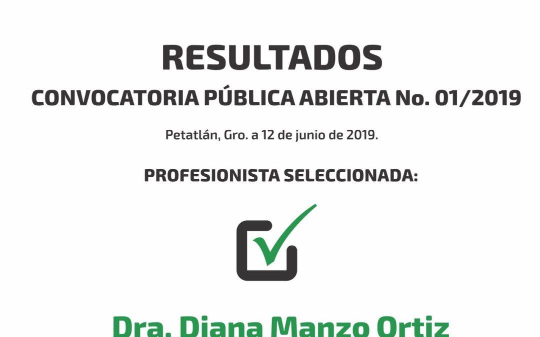 Resultados – 01/2019