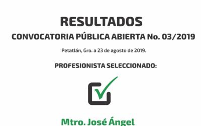 RESULTADOS 03/2019
