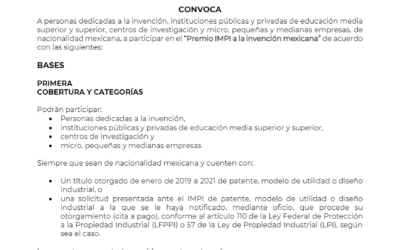 Premio IMPI a la invención mexicana