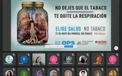 Termina jornada de conferencias del Día Mundial Sin Tabaco
