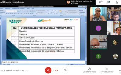 Participación docente en conferencias virtuales