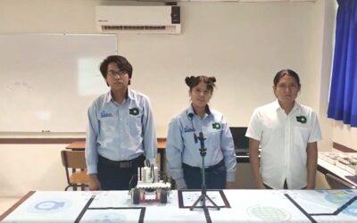 Estudiantes de robótica de la UTCGG, participarán a nivel nacional en el torneo WER