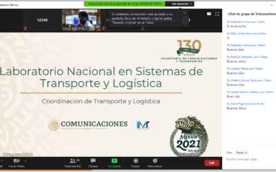 Platica virtual con el Dr. Cesar Montiel Moctezuma, Investigador del Instituto Mexicano del Transporte