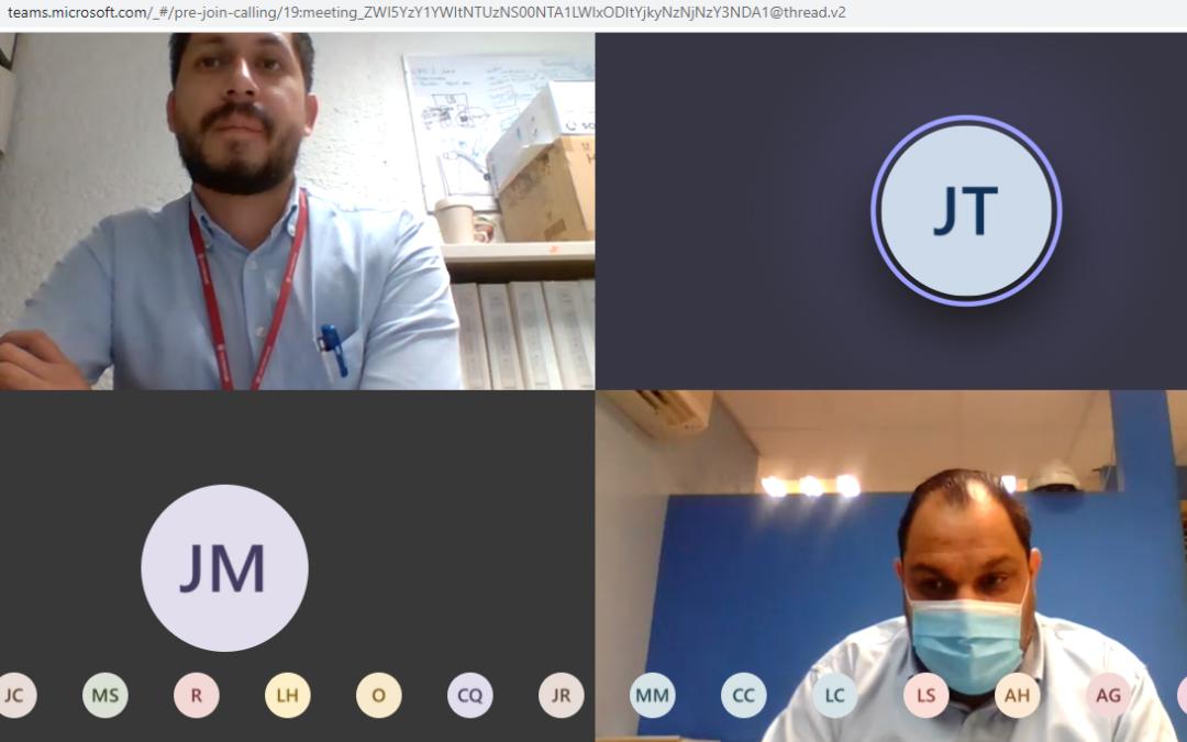 Estudiantes de Mantenimiento Industrial participaron en una plática virtual con personal de la Central Hidroeléctrica Adolfo López Mateos